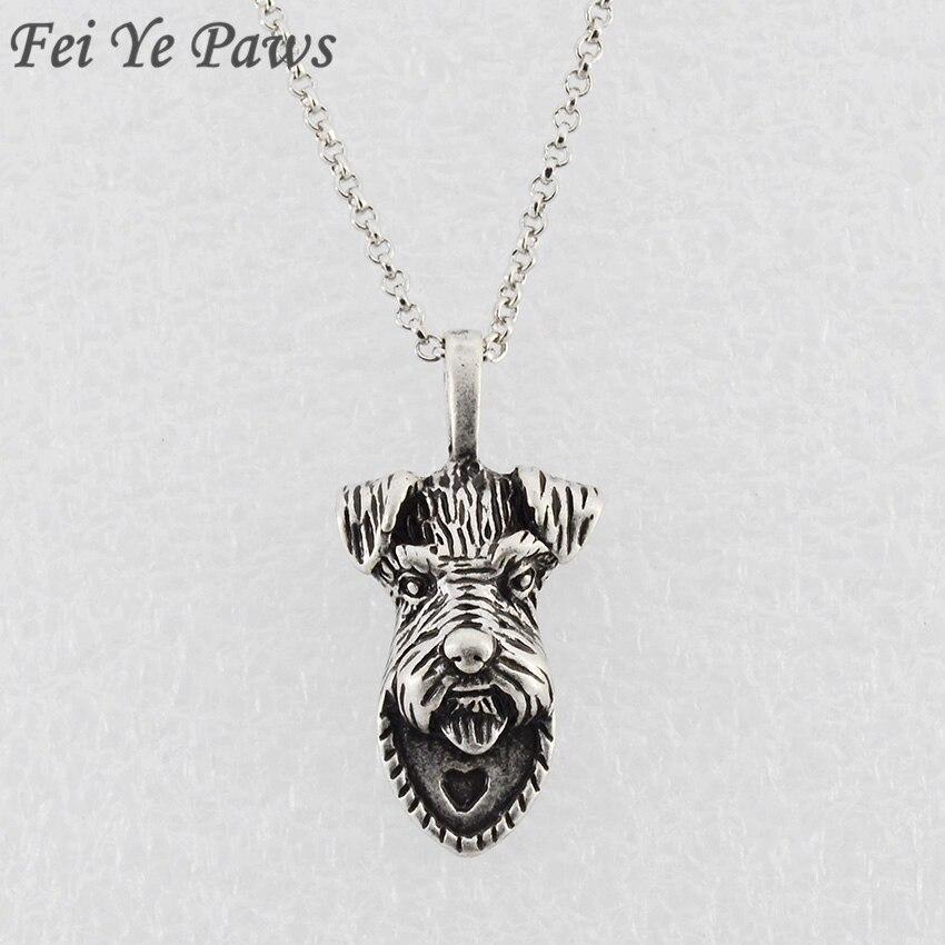 Fei Ye Paws Vintage Schnauzer Շների վզնոցներ և - Նորաձև զարդեր - Լուսանկար 4