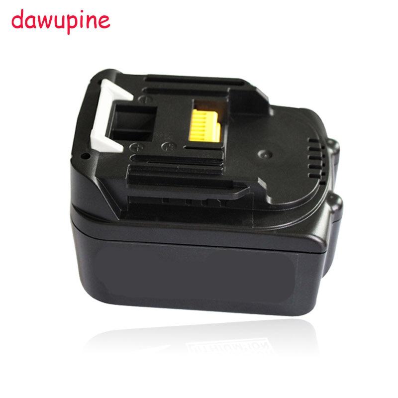 dawupine 14.4V 3000mAh Lithium-ion Battery For Makita 14.4V 3.0A BL1430 BL1415 BL1440 USB Charger Adapter Converter Mobile Phone