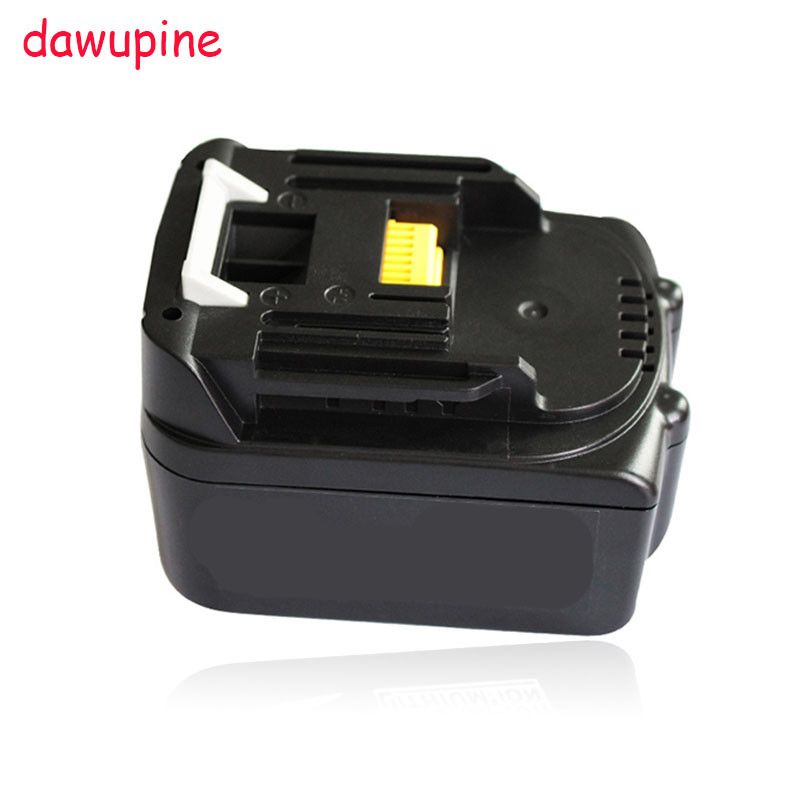 dawupine 14.4V <font><b>3000mAh</b></font> Lithium-ion Battery For Makita 14.4V 3.0A BL1430 BL1415 BL1440 USB Charger Adapter Converter Mobile <font><b>Phone</b></font>