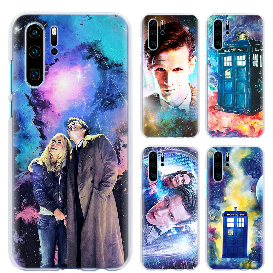 Half-wrapped Case 9th And Rose Doctor Who Phone Case For Huawei P30 P30 Pro P9 P10 P20 Lite P Smart Plus View 20 Hard Pc Back Case Coque To Clear Out Annoyance And Quench Thirst