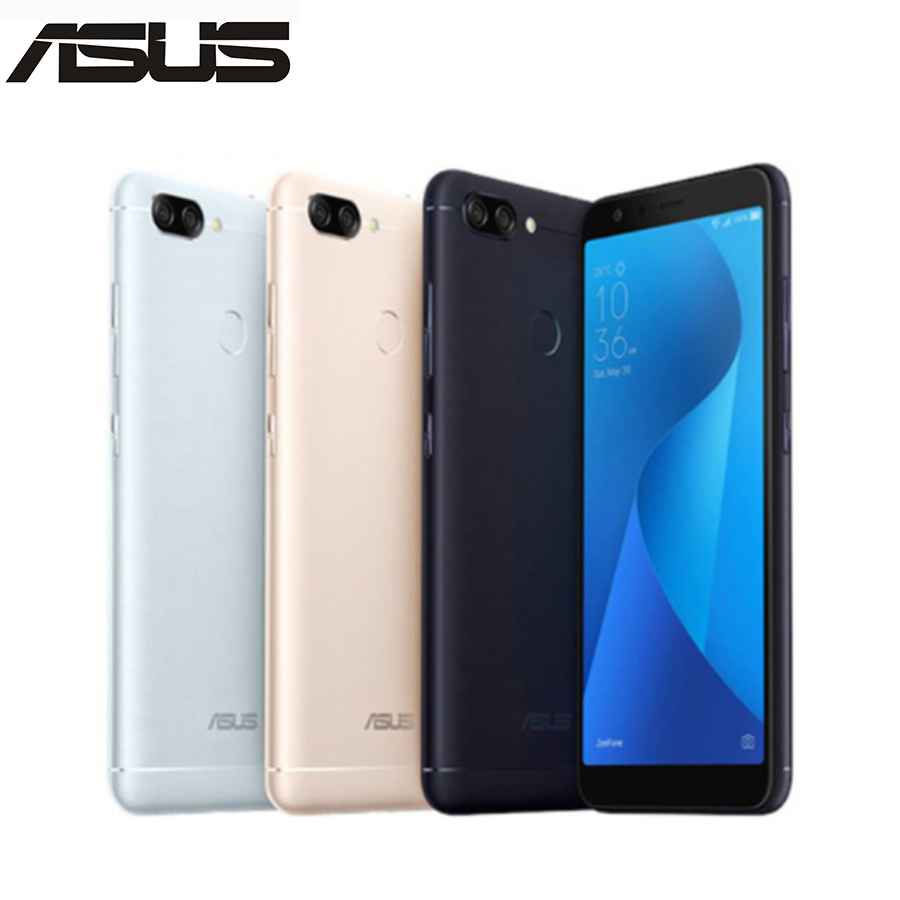 "Original ASUS ZenFone 4S Max Plus M1 ZB570TL 4G LTE Mobile Phone 5.7"" 4GB RAM 64GBROM 18:9 full Screen 4130mAh Android CellPhone"