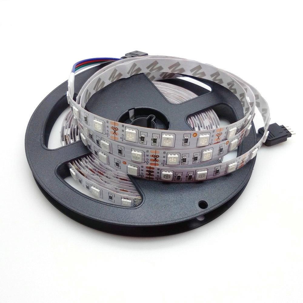 LED csíkvilágítás 5050 RGB 5M 300 LED nem vízálló flexibilis - LED Világítás - Fénykép 6
