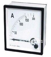 الشحن مجانا! (8 قطع) ac التناظرية أمبير متر الحالي أمبير مقياس 96*96 ملليمتر لوحة العدادات