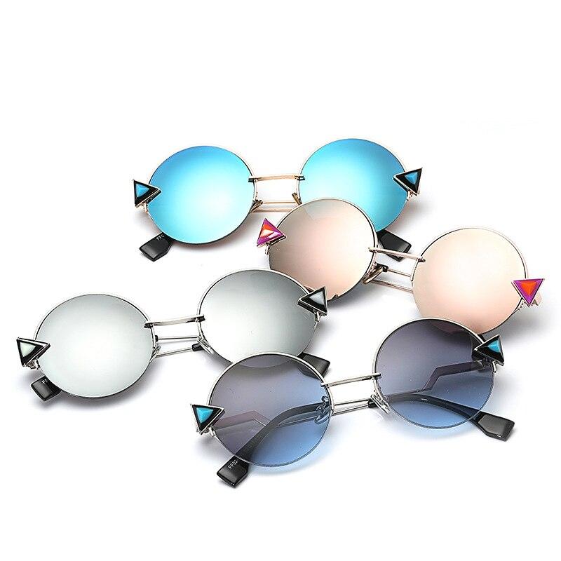 Shades Marca Uomini Signore Retrò Femminile Occhiali c7 Rotonda C1 c2 c4 c3 c6 Per Progettista Di Oculos Donne Sole c5 Specchio Da Del Gafas Le wqZqP4f