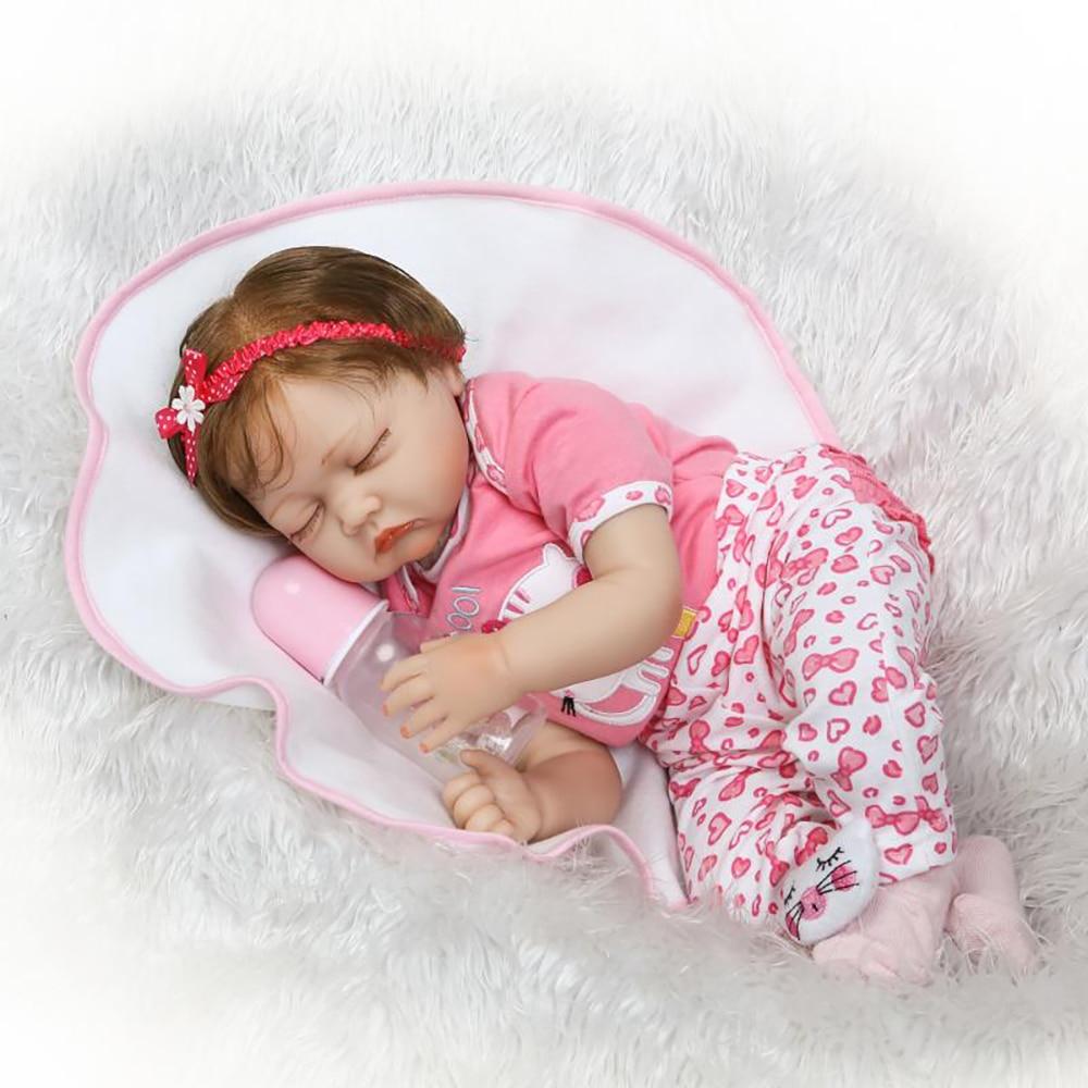Aliexpress Com Buy 55cm Silicone Reborn Baby Doll Toy