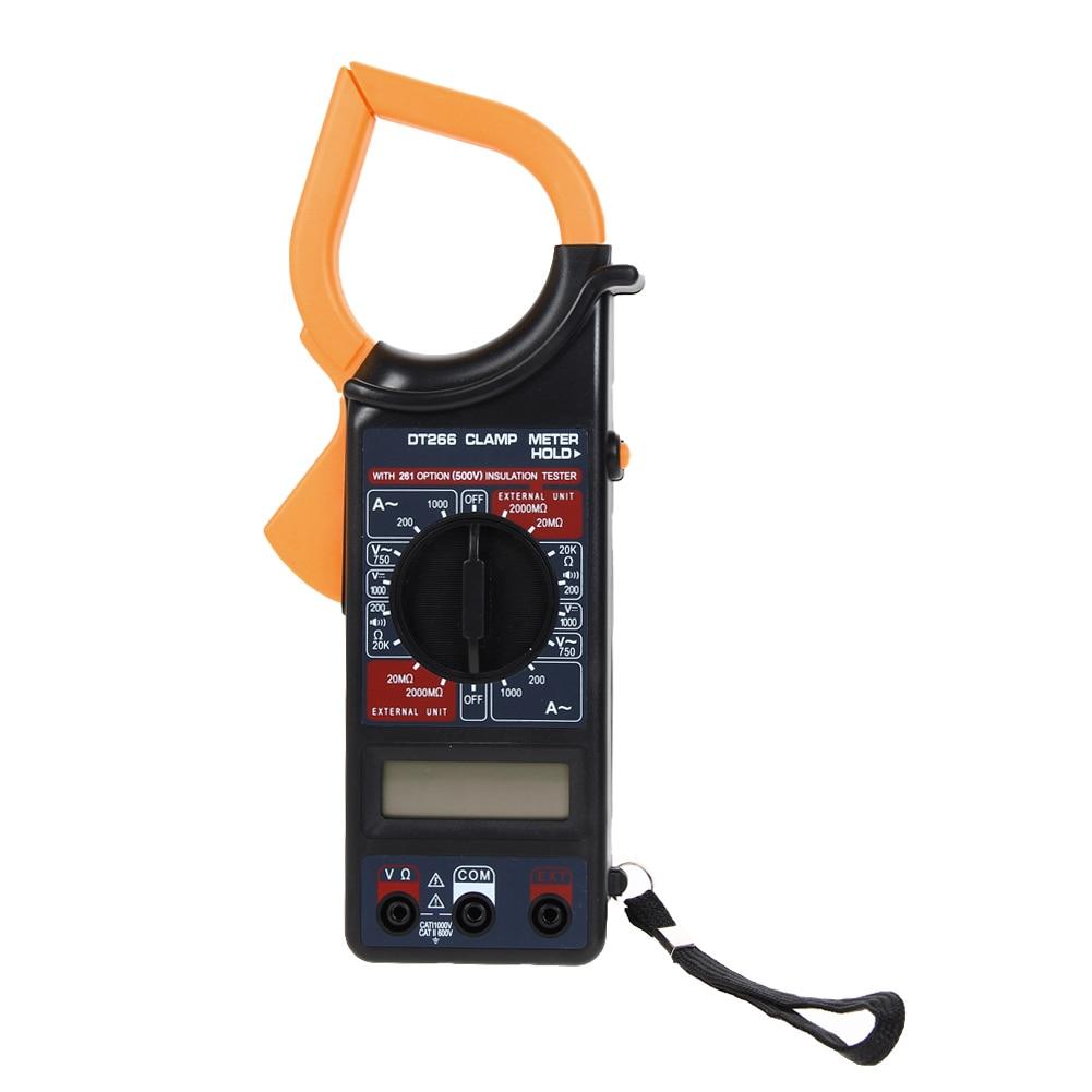 Digital Multimeter Clamp Meters Voltmeter Ammeter Ohmmeter Volt AC DC Tester Clamp Meter digital meter clamp ammeter hook 31022a