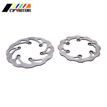 Motorcycle Steel Rear Front Brake Disc For YAMAHA DT200 1991 WR200 92-97 DT230 97-98 TTR250R TTR 250R 93-04 TT-R 250 99-07