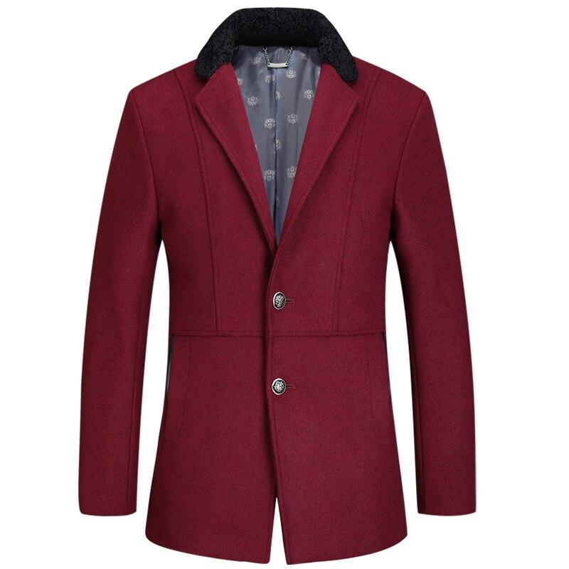 2017 The new Men's Trench coat British style cape coat autumn winter coat jacket windbreaker men trench coat overcoat 190