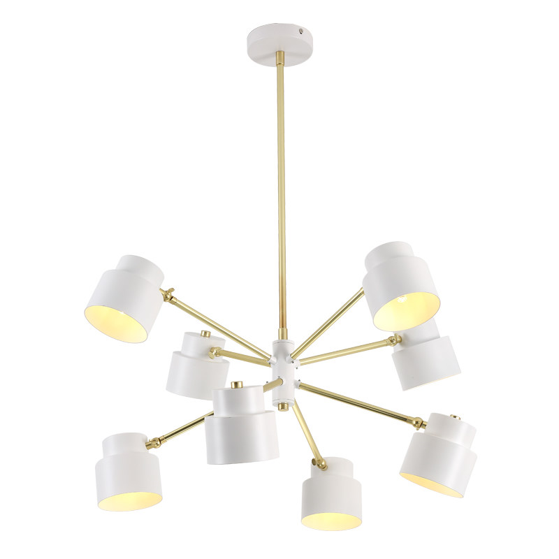Nordic simple New classical pendant light living room dining room bedroom lamps led iron creative art designer light fixture Pendant Lights     - title=