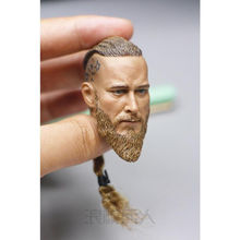 Viking toys 1/6 Scale Vikings Braid Head Model Normal Ver For 12in Male Body action figure toys