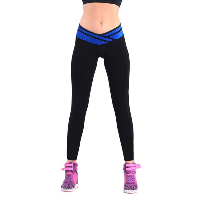e9cd7e8c3 Besgo Sexy High V-waist Stretched Women's Sports Pants Gym Fitness Running  Tights Women Yoga Leggings Fitness fit 42-68 kg