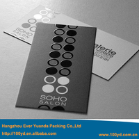 Upscale Custom Business Cards 95*50mm Spot UV Printing On Double Sides Glossy Surface Factory Price Online Wholesale A4 Size