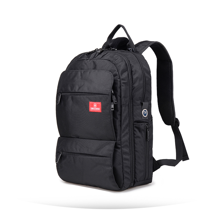 brand new fashion business computer backpack 15 Inch unisex travel laptop bag college high school backpack escolar SWE6018 new hot brand canvas backpack bag for laptop 1113 inch travel business office worker bag school pack free drop shipping 1133