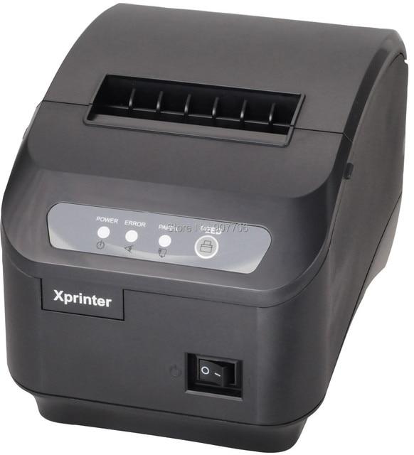 Pos принтер Высокое качество 80 мм тепловая чековый принтер XP-200II авто-резак машина скорость печати USB порт 200 мм/сек.