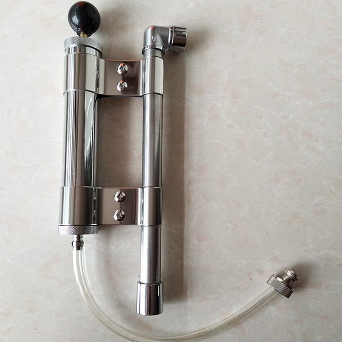 8 picnic pump keg party pump for kegging beer out with 5 8 G thread both
