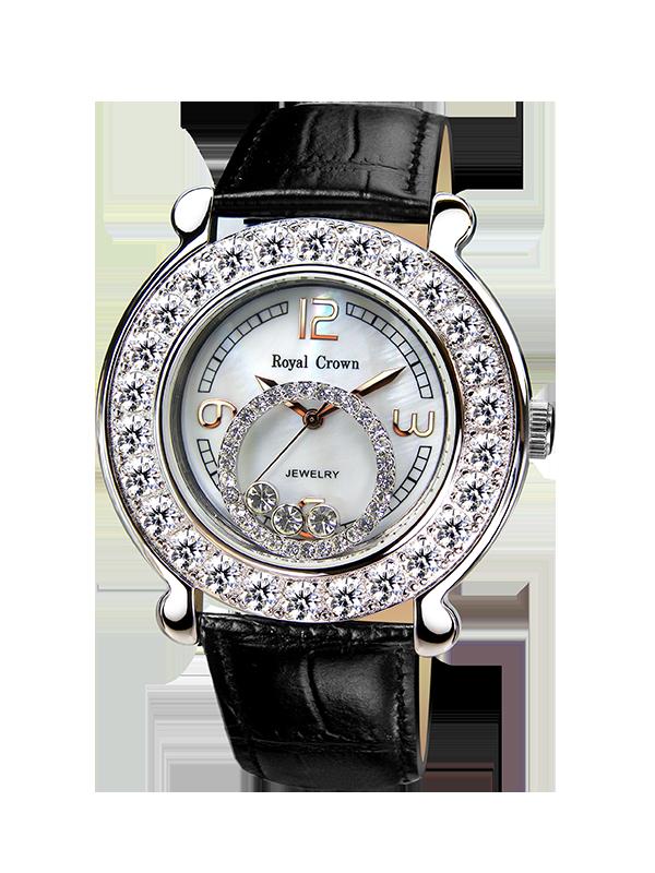 Royal Crown Jewelry Watch 3773M Italy brand Diamond Japan MIYOTA platinum Ladies Watch Waterproof Student Wristwatch сумка maijiana 366 3773 2014 366 3773
