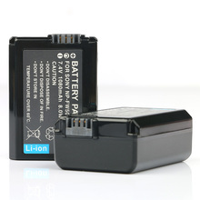 цена на Free shipping 2PC 7.2V 1080mAh NP-FW50 rechargeable Battery NP FW50 Camera batteries for Sony NEX 5 5A 5C 5D 5H 5K 5N 5R 5T
