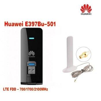 unlocked Huawei E397 (E397Bu-501) 4G LTE Dongle USB Modem 100Mbps  +10dBi 3G 4G LTE Antenna TS9