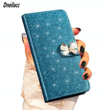 Dneilacc Glitter Bling Flip Stand Case For Samsung Galaxy S10 5G Lite Plus S10e Wallet Phone Cover Coque Flash In The Sun
