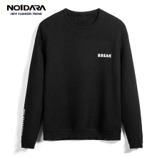 No.1 dara 2018 Men O-Neck Letter Slim men's sweater chompas para hombre Mens Sweater sueter hombre Casual Tops Sweater dara o briain edinburgh