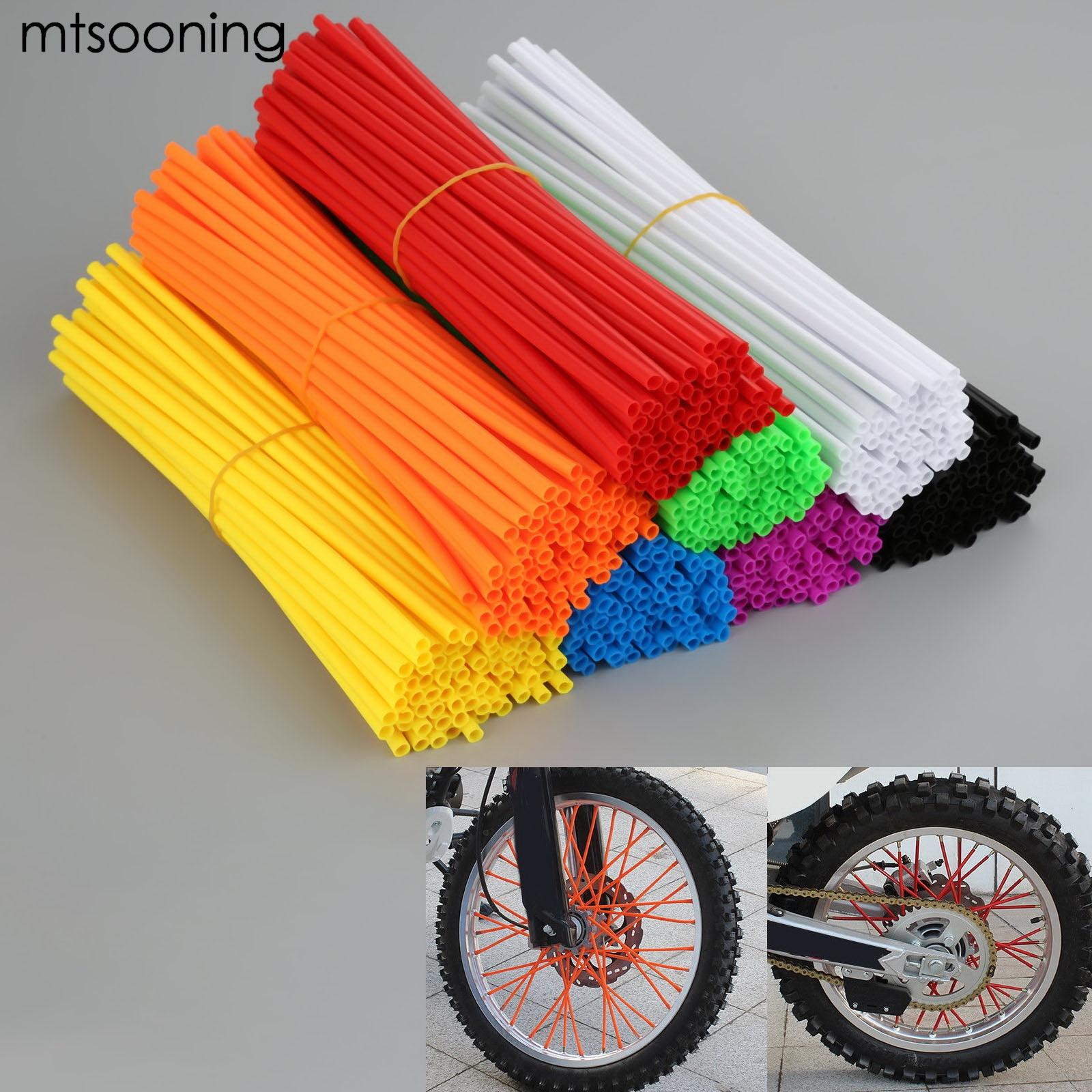 mtsooning мотоцикл грязь велосипед Enduro внедорожных обода колеса говорил скинов multicolor для КТМ, Харлей Хонда Ямаха Кавасаки Сузуки