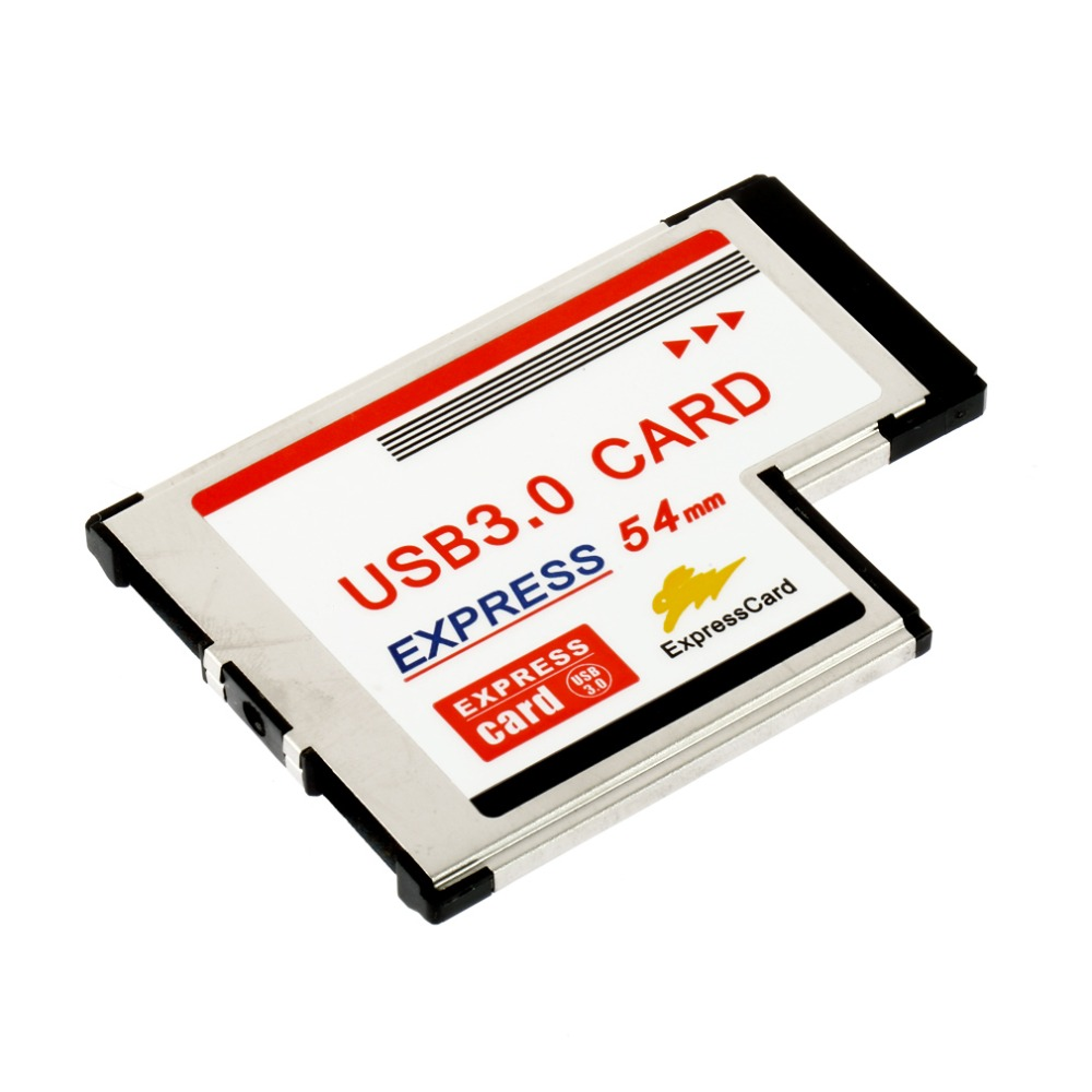 NEW Express Card Expresscard 54mm to USB 3.0x2 Port Adapter In stock!