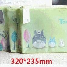 File Bag Mesh-Bag Documents Stationery Filing-Production Cartoon Cat 1pcs/Lot Animals
