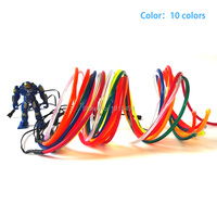 High quality Fashion 15Meter 5.0mm 10 Colors available,Trendy EL wire Holiday lighting+AC 220V Drives For Christmas Decoration