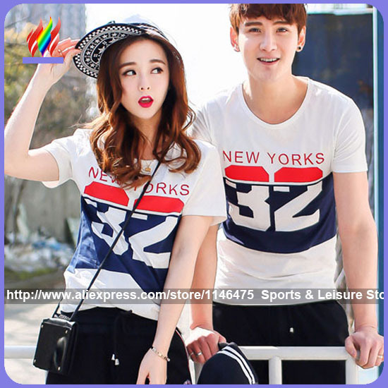 2015 new arrival hot sale korean matching couple clothes