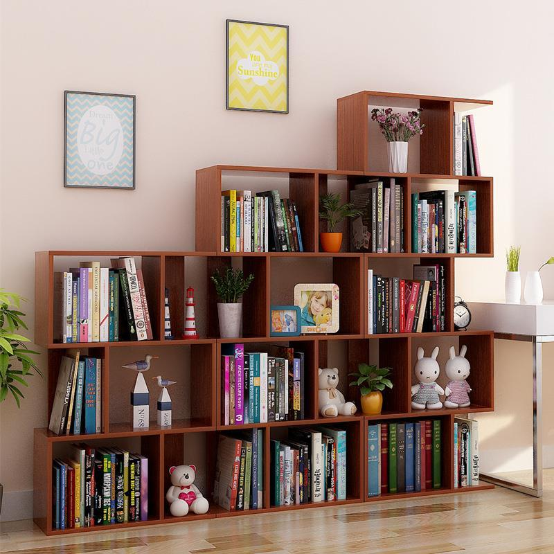 Kids Camperas Meuble Boekenkast Cabinet Estanteria Madera Decor Vintage Wodden Furniture Retro Decoration Book Shelf Case in Bookcases from Furniture
