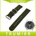 Cinta Faixa de Relógio de nylon Zulu para Hamilon Tecido Das Mulheres Dos Homens Pin Fivela De Aço Inoxidável pulseira de Pulso Pulseira de 18mm 20mm 22mm 24mm