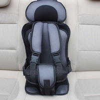 New Adjustable Baby Car Seat 6 Months 5 Years Old Baby Safe Toddler Booster Seat Thicken