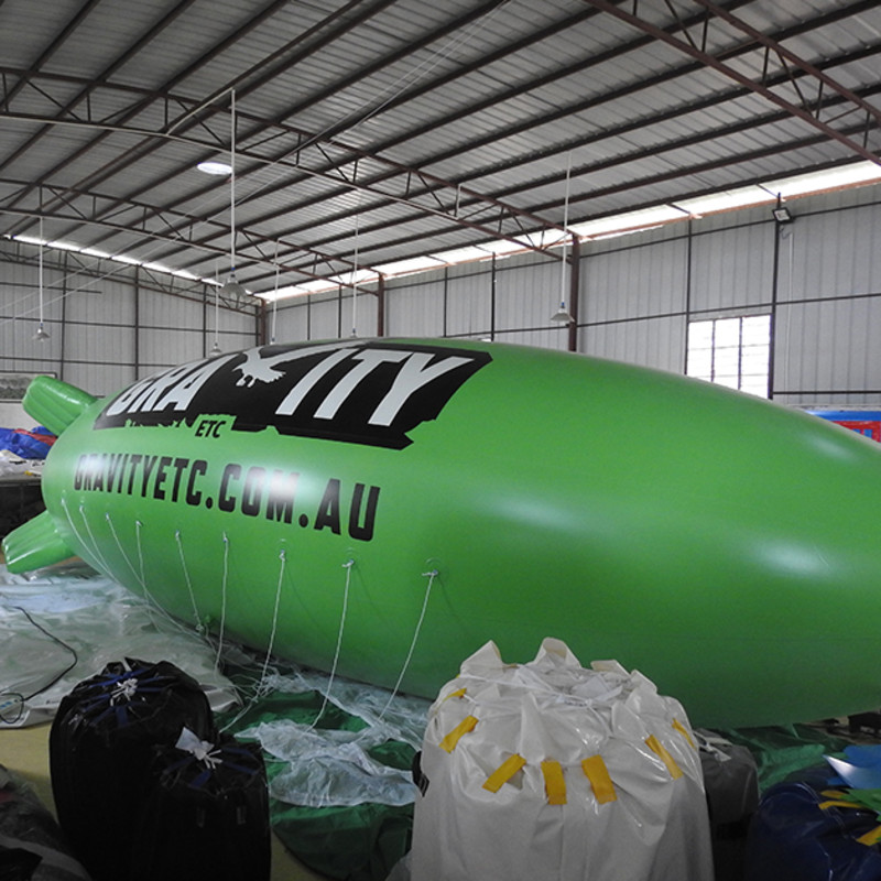 Inflatable Blimp Airship / Inflatable Helium Balloon Display Advertisement Advertising Products