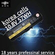 original LAPTOP battery 10.8V 57WH FOR Lenovo ThinkPad SL410 L410 T520 L412 L420 SL510 W510 L421 W520 batteria akku
