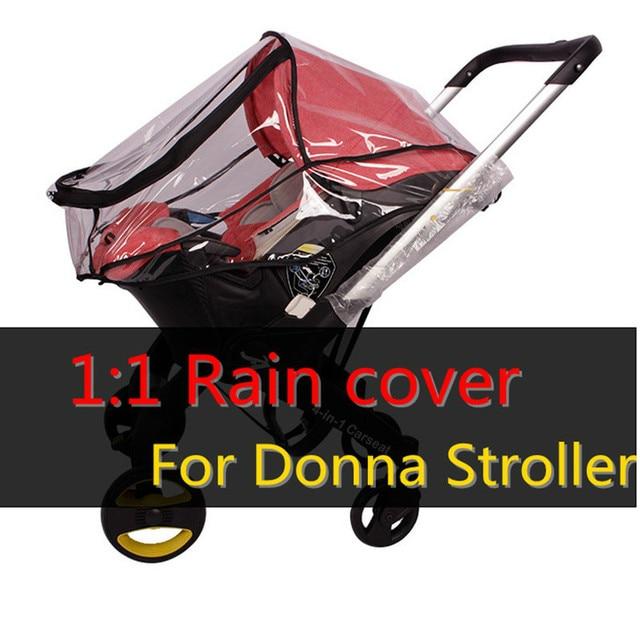 Us 18 2 28 Off Baby Canopy Waterproof Original Waterproof Rain Cover Wind Dust Shield For Doona Style Baby Strollers Pram In Strollers Accessories