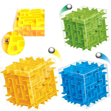 3D Maze Magic Cube Puzzle Speed Cube Labyrinth Rolling Ball Toys Puzzle Game Cubos Magicos Educational Intelligence Baby kid Toy