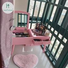 Луи моды комоды плавающее окно многофункциональный мини-спальня макияж Скандинавский современный минималистский