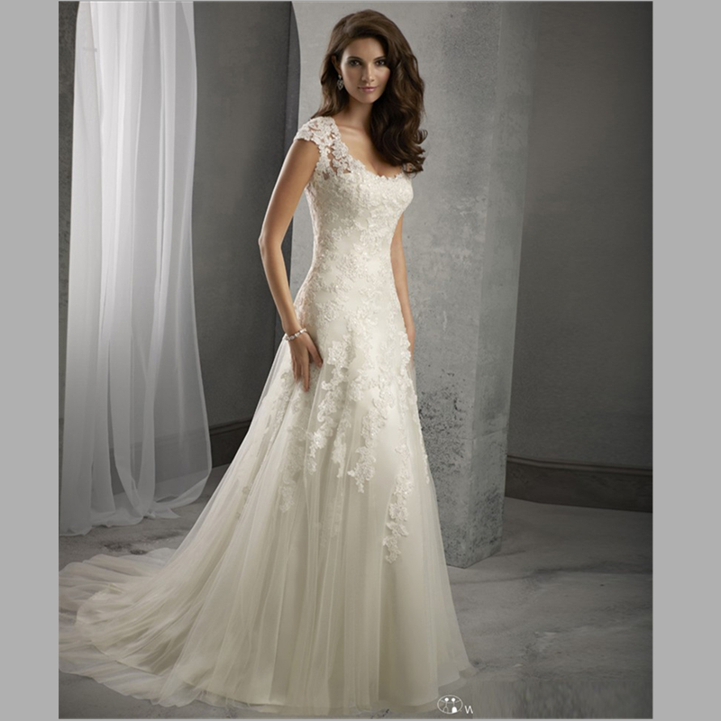 Compare Prices on Open Back Beach Wedding Dress- Online Shopping ...