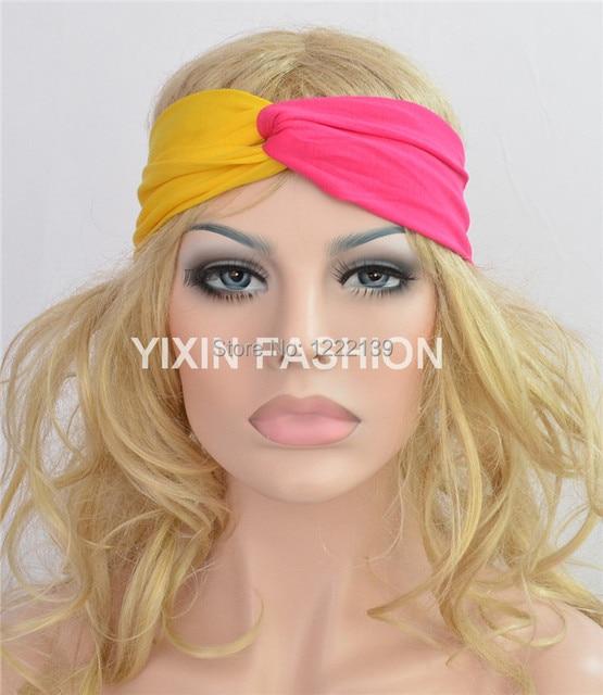 50pcs lot Headband twist turban knot 3.75