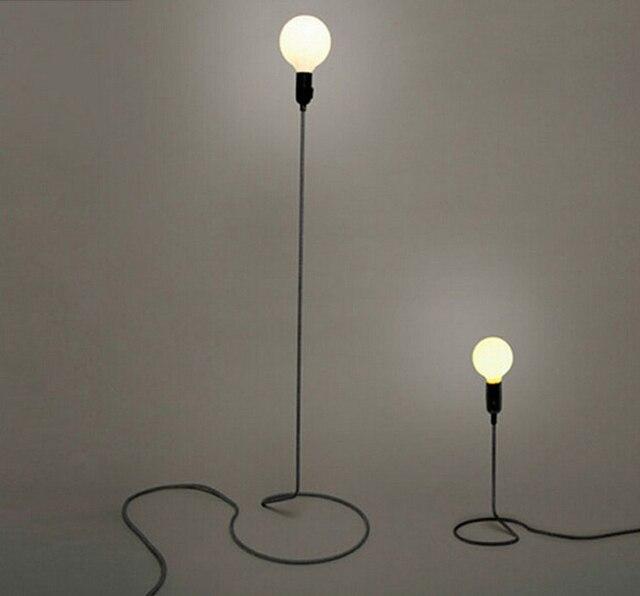 US $78.99 |Dekorative lampe linie kreative studie Loft retro  minimalistische moderne stehleuchte wohnzimmer esszimmer küche schlafzimmer  in Dekorative ...