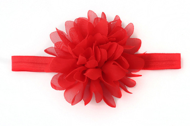 Hot Sale Baby Girl Elastic Hairband Children Hair Wear For Kids Head Band Flower Headband Baby Hair Accessories 3