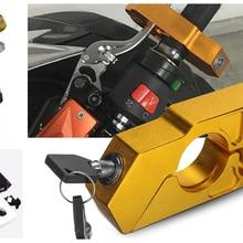 Мотоцикл модифицированный тормозной клаксон фиксированный замок ручка защита от взлома для califoria Custom TouRing Classic ELDORADO GRISO MGX21