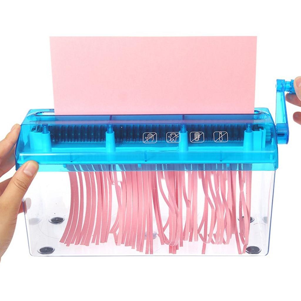 Mini mão shredder papel quilling ferramentas artesanal a6 documentos de papel máquina de corte ferramenta para escritório em casa material escolar