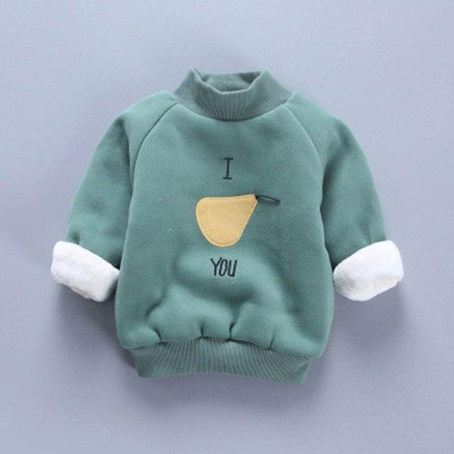 Маленькие дети мальчики девочки одежда для малышей наряд бархатные свитер-пальто для маленьких мальчиков и девочек детская одежда повседневная спортивная верхняя одежда