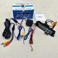 Reverse Parking Camera For Toyota iQ (KGJ10) / Scion iQ / LED HD CCD Night Vision Car Backup Rear View Camera / NTSC