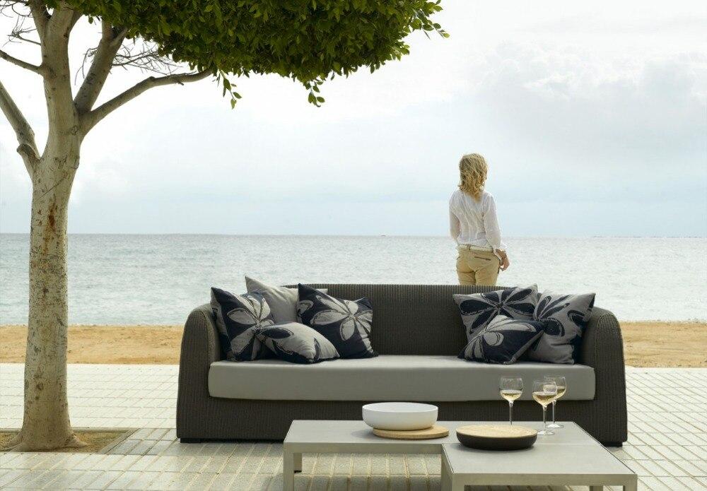 new arrival leisure led grey rattan patio garden treasures outdoor furniture