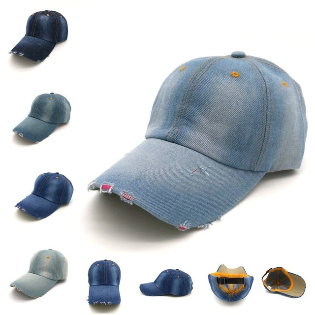 mens low profile baseball caps cap uk high new clean up denim vintage hats plain washed man women