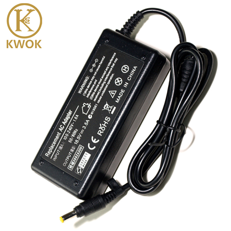 2019 Laptop Adapter 18.5V 3.5A 4.8x1.7mm AC Charger For Hp Compaq 500 510 520 530 540 550 620 625 CQ515 Notebook Power Supply