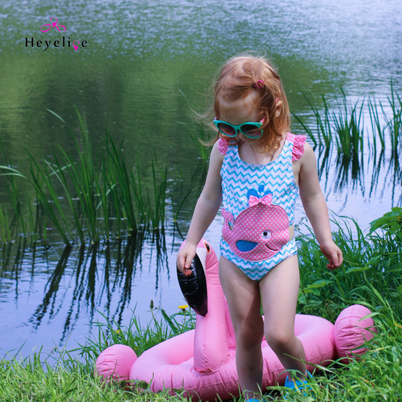 Lovely Kid Swimwear High Quality One Piece Swimsuits For ...