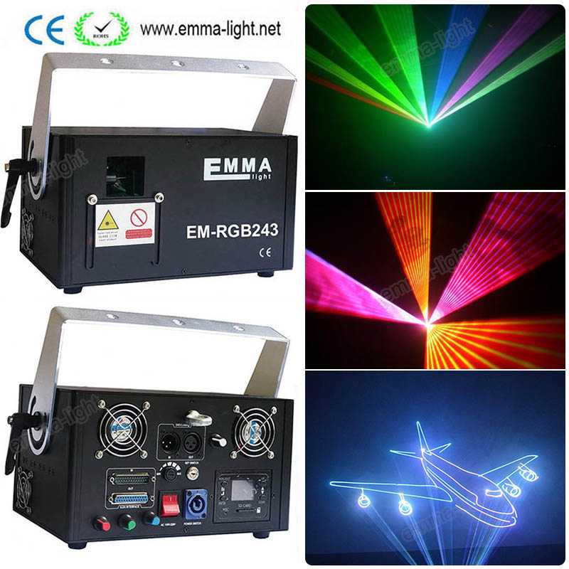Lights & Lighting Stage Lighting Effect 2w Rgb Beam Animation Dmx Party Light/ktv Light/stage Laser Projector Easy To Use